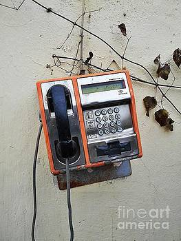 Payphone Still Life by Erika H
