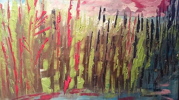 Paysage de printemps  by Danielle Landry