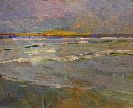PB Sunset by Jim Noel