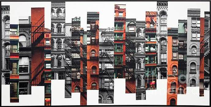 Patchwork City 68 by Marilyn Henrion