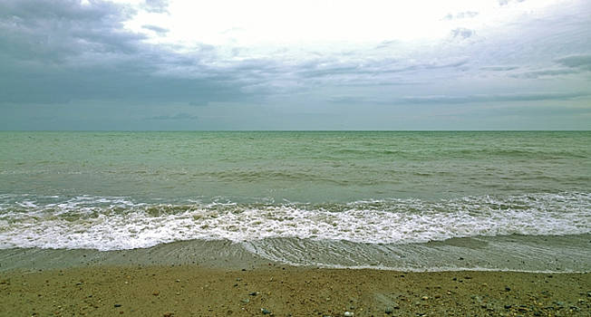 Pea Green Sea by Anne Kotan