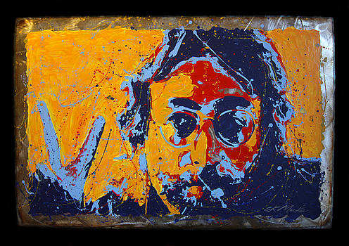 Peace - Lennon on Steel II by Chris Mackie