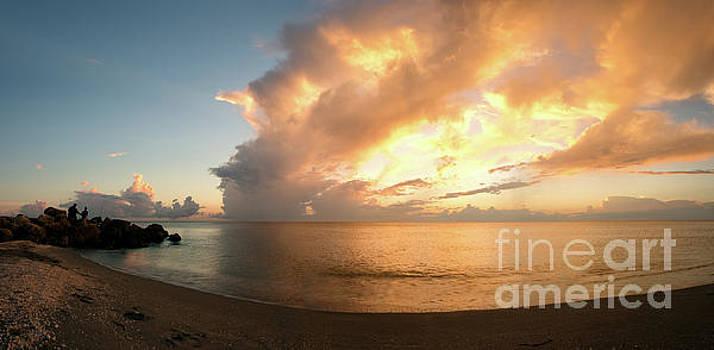 Peace and Drama - Sunset from Captiva, Florida by Matt Tilghman