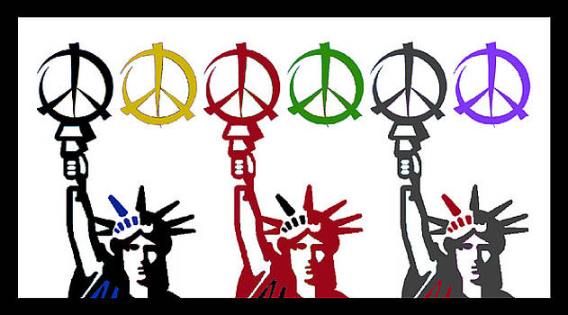 Peace and Liberty by Alexander Aristotle