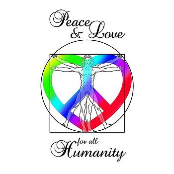 Peace And Love For All Humanity by Az Jackson