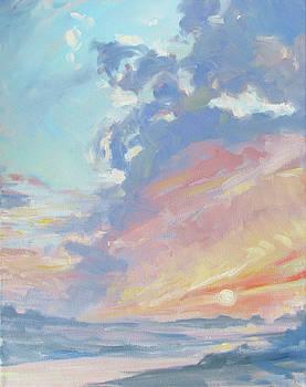 Peace at Sunset by Azhir Fine Art