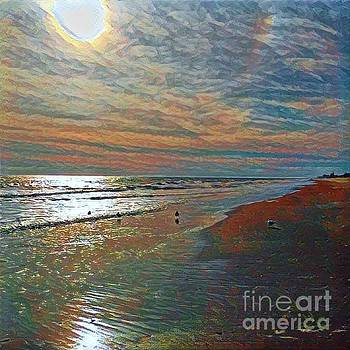 Peace at the Beach by Diana Chason