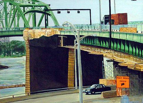Peace Bridge I by George Grace