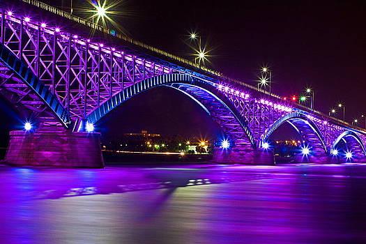 Peace Bridge LED by Don Nieman