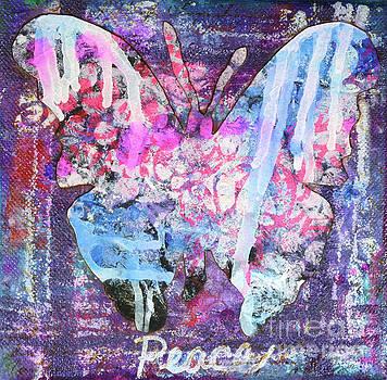 Peace Butterfly by Lisa Crisman