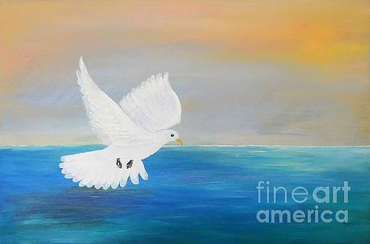 Peace Descending by Karen Jane Jones