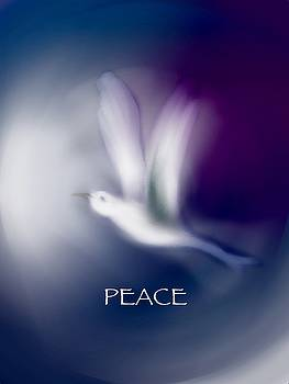 Peace Greeting Card by Frank Bright