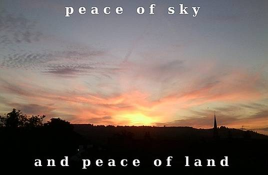 Peace Horizon by Julia Woodman