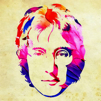 Peace - John Lennon by Stacey Chiew