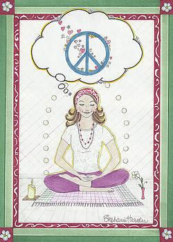 Peace Meditation by Stephanie Hessler