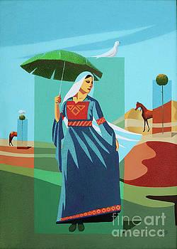 Peace, Power And Umbrella by Imad Abu shtayyah