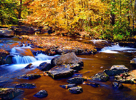Peaceful Autumn Afternoon  by Frank Houck
