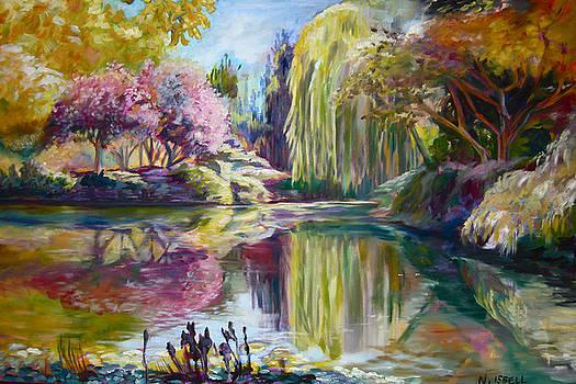 Peaceful Garden by Nancy Isbell