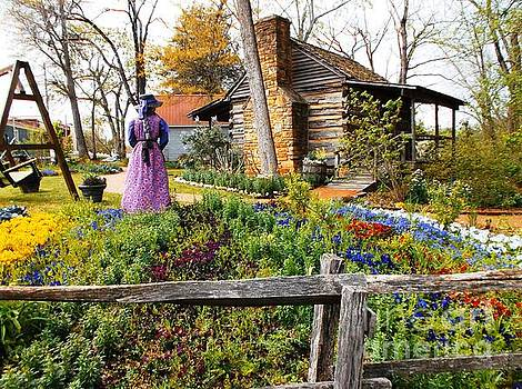 Peaceful Garden Walk by Donna Dixon