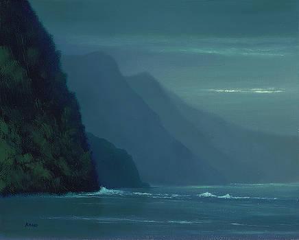 Peaceful Na'Pali Coast by Steve Kohr