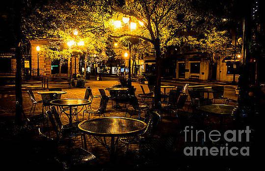 Peaceful Nightlife by John Baumgartner