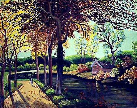 Peaceful Path to Beauty by JoeRay Kelley