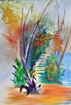 Peaceful Pathway by Jacqueline Whitcomb