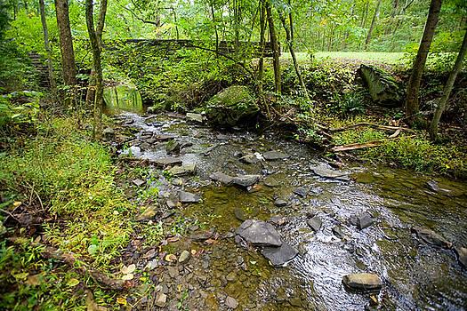 Peaceful Stream by John Holloway