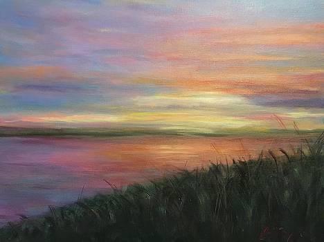 Peaceful Sunset by Barbara Joyce