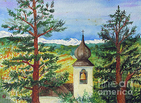 Peaceful Valley Bell Tower by Donlyn Arbuthnot