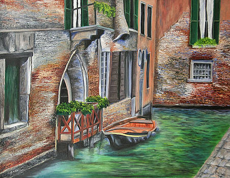 Charlotte Blanchard - Peaceful Venice Canal