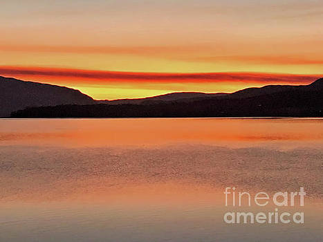 Peaceful Water by Victor K