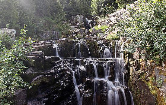 Peaceful waterfall by Richard Jones