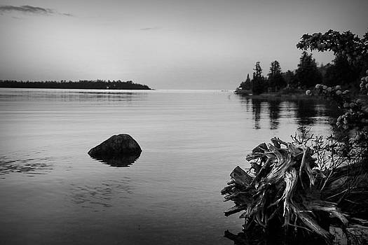 Peaceful Waters at Crystal Point, Lake Huron MI by Kelly Hazel