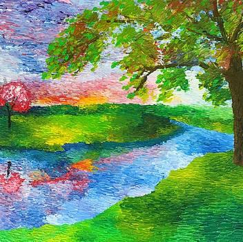 Peaceful Waters  by J Travis Duncan