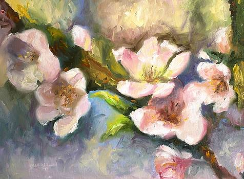 Peach Blossoms by Melissa Herrin