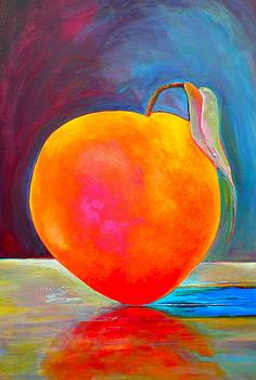 Peach I by Diane Woods