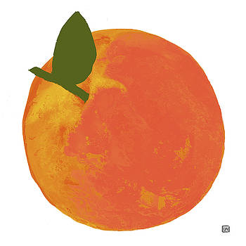 Peach I by Lisa Weedn