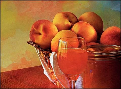 Peach peachcello by Roy Inman
