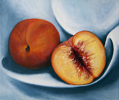 Peaches by Dinny Madill