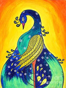 Peacock-3 by Shachi Srivastava