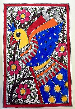 Peacock beauty by Vidushini Prasad
