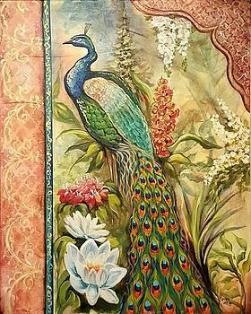 Peacock Fantasy by Sandra Lett