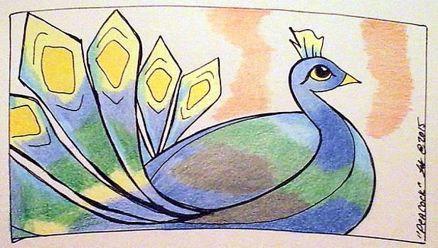 Peacock by Loretta Nash