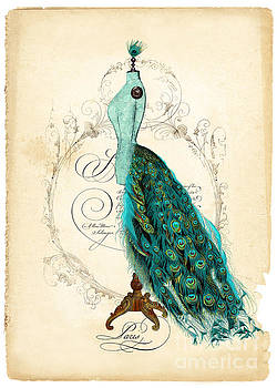 Peacock Mannequin by Wendy Paula Patterson