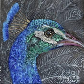 Peacock  by Mary Hughes