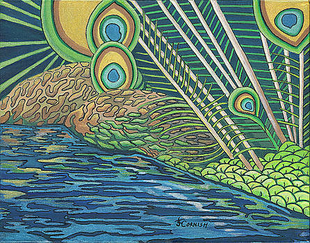 Peacock Point by Janis Cornish