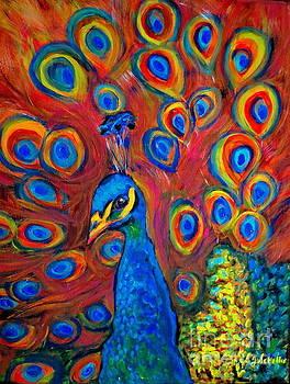 Peacock Pretty Boy by Jodie  Scheller