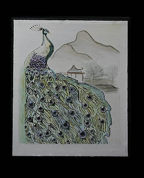 Peacock by Robin Lee