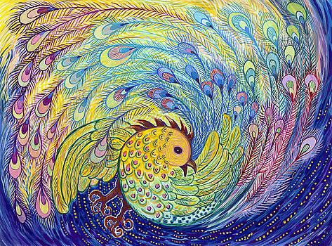 Peacock by Shoshanah Dubiner